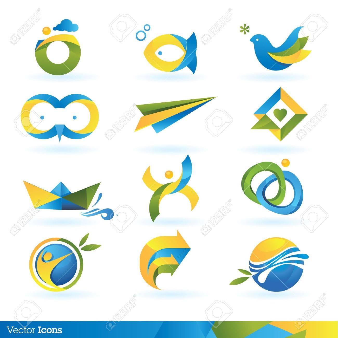 Icon design elements - 10564207