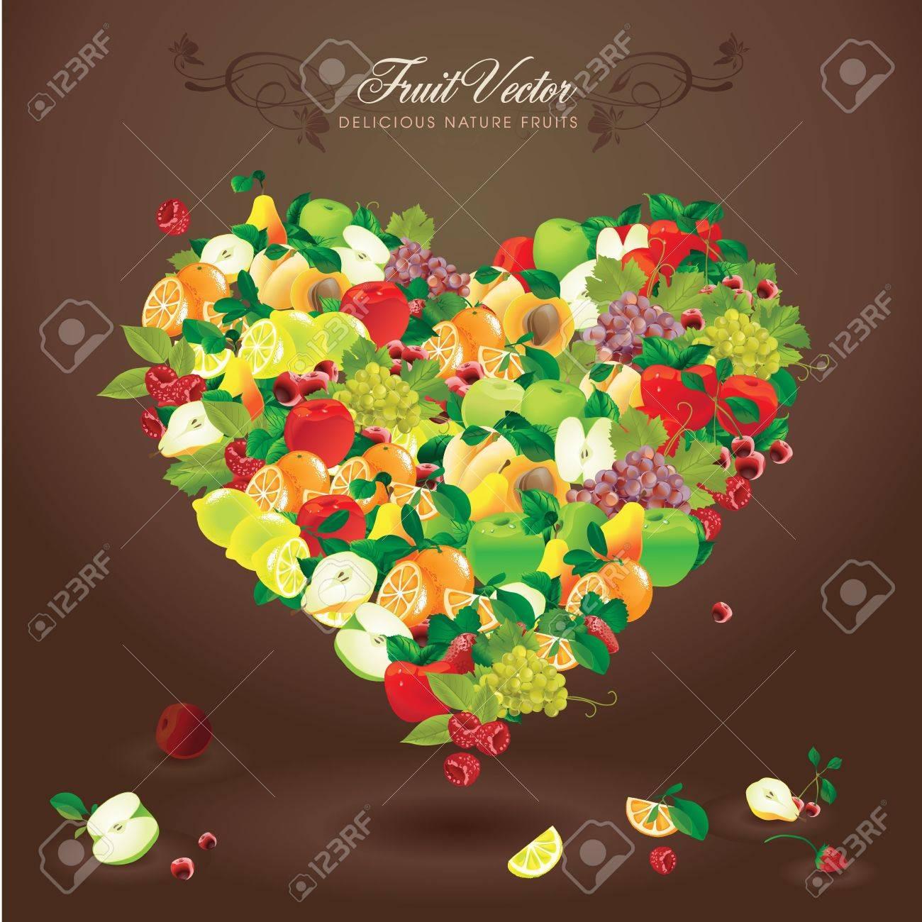 Delicious natural fruits - 11325064