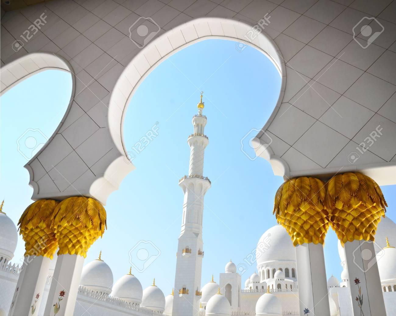 Sheikh Zayed Mosque in Abu Dhabi, United Arab Emirates - 11910437