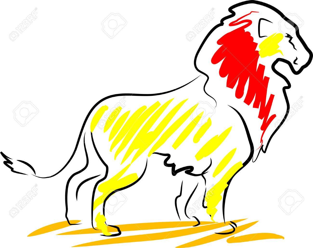 Lion Stock Vector - 7014818