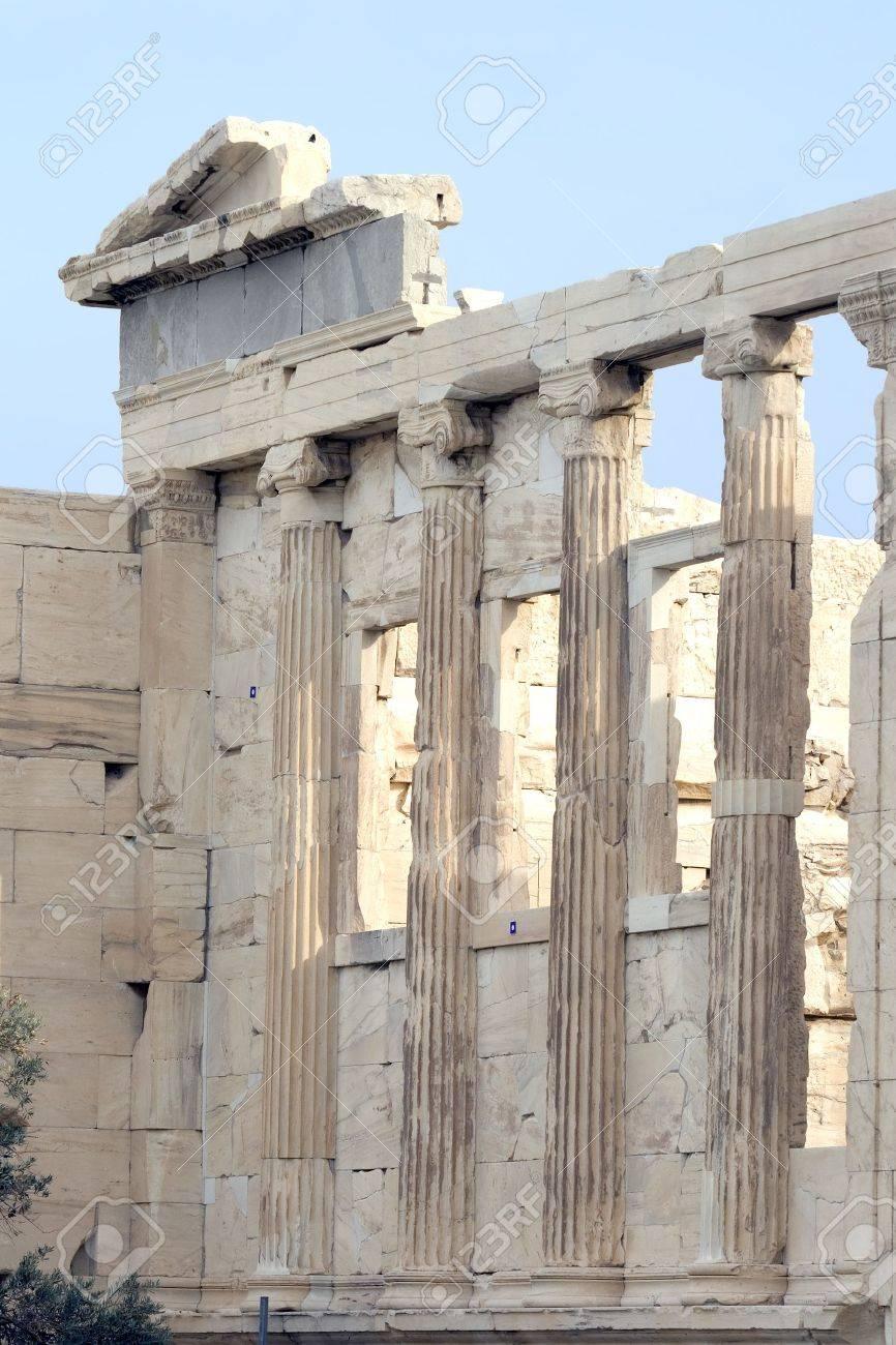 ギリシャ、アテネのアクロポリス...