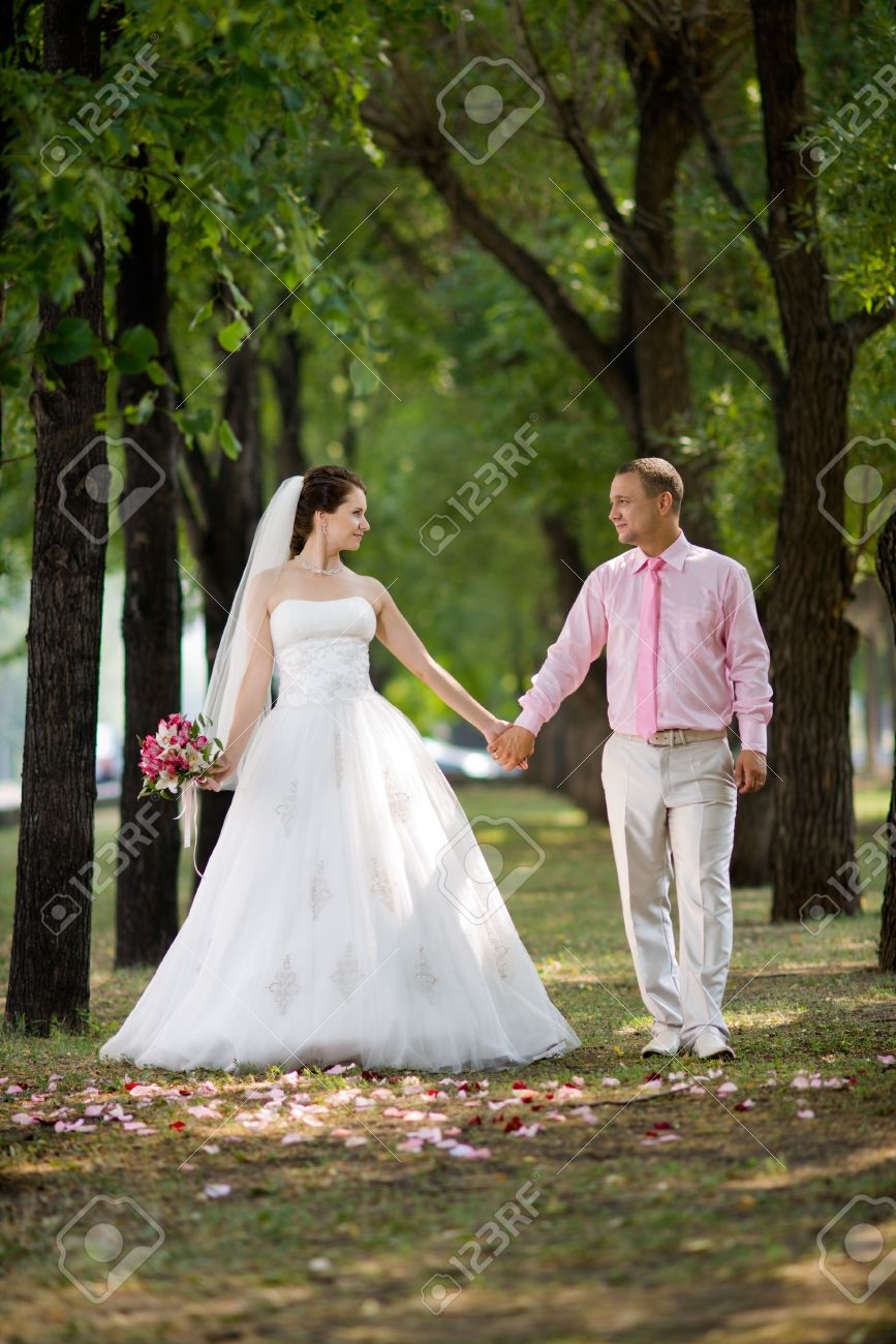 White couple romance