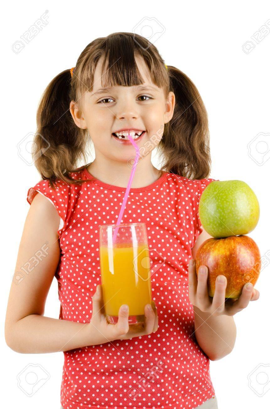 drinking pineapple juice