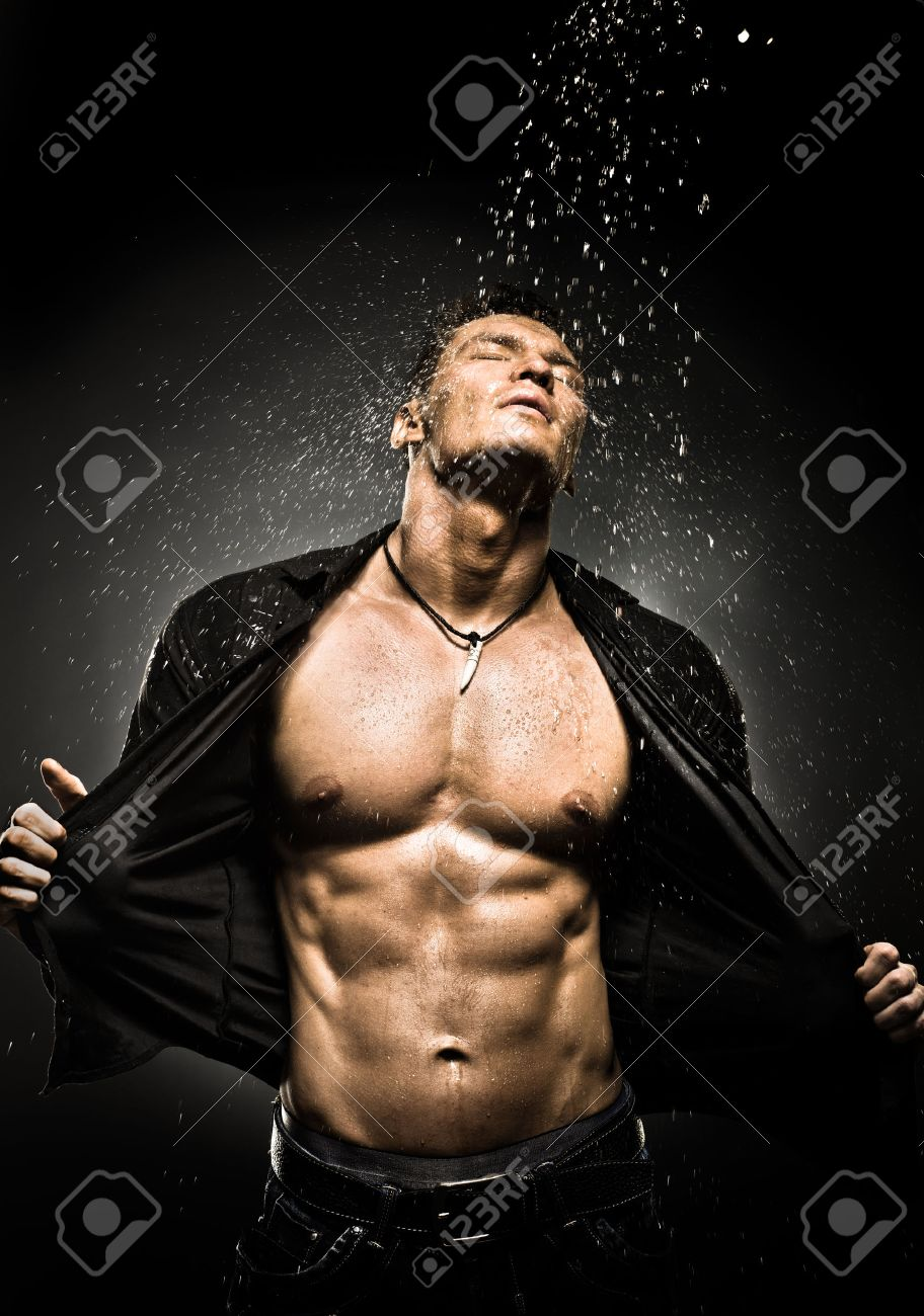 Female muscle nude worship