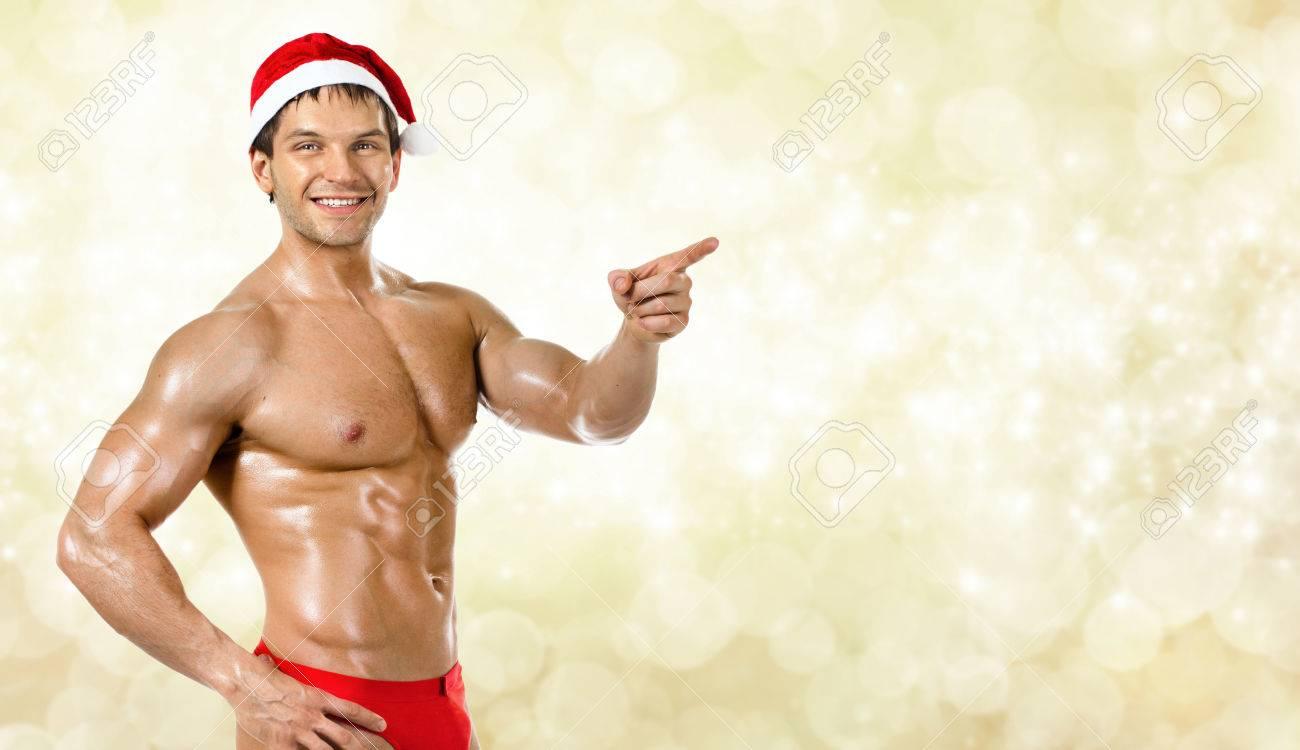 Сексуальная мускулистая
