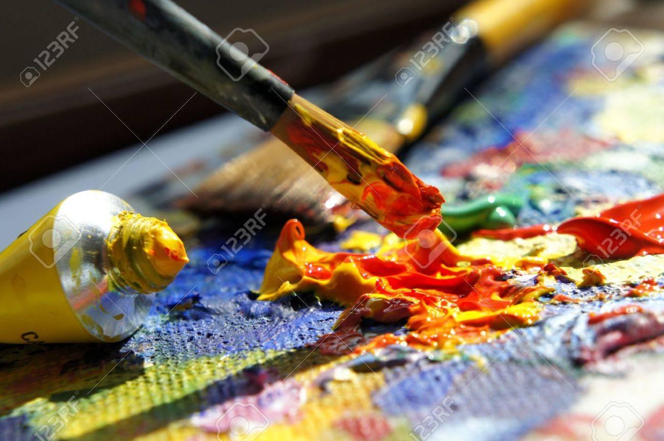 Art palette - 13783065