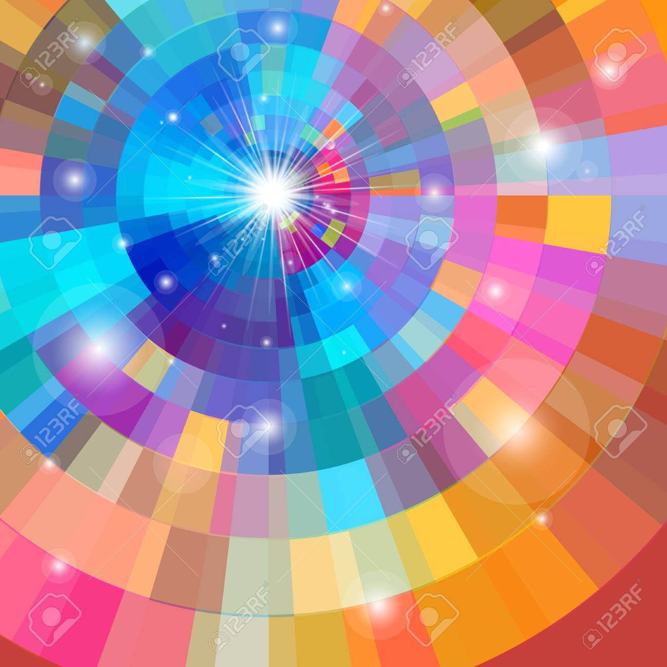 Bright multicolored gradient background - 85467724