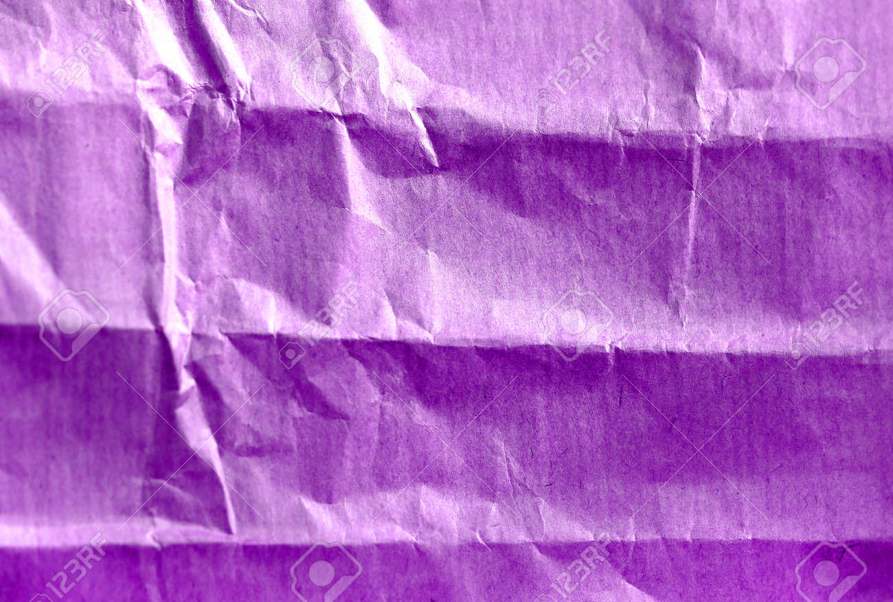 Photo background of craft crumpled colored paper - 161037312