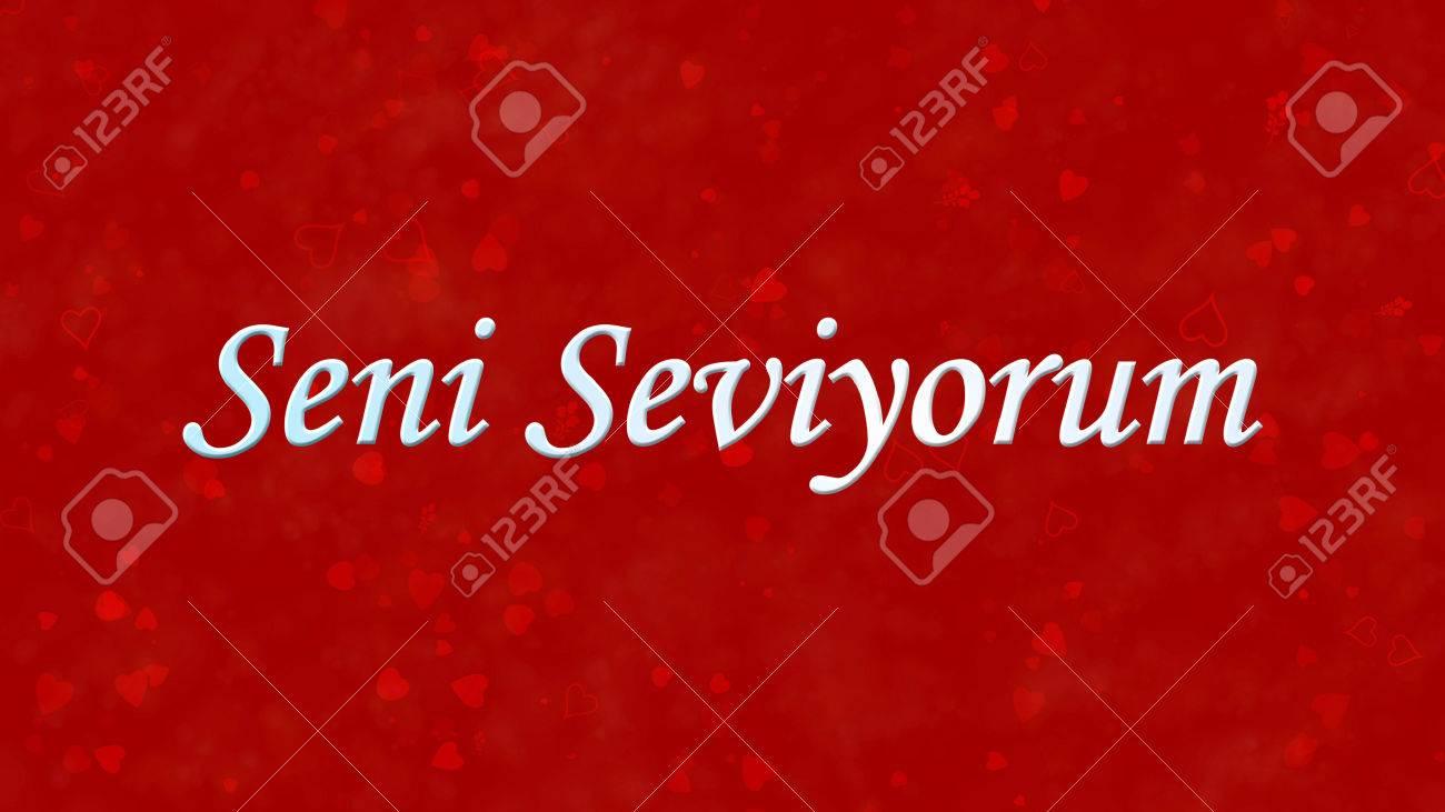 Schatz Türkisch Sevgilim Ich Liebe Dich 2019 10 13