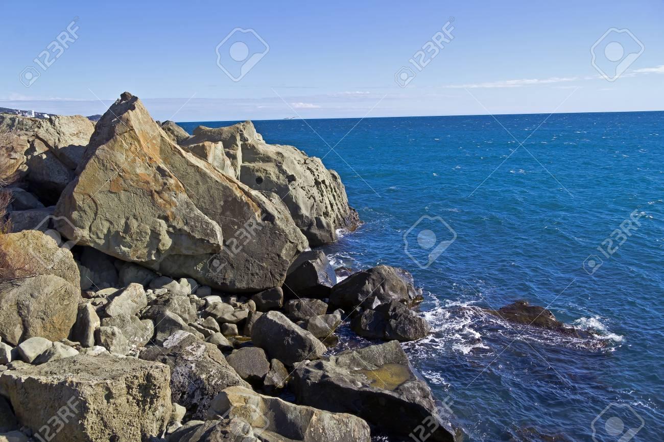 Ayvazovskys Felsen, An Dieser Stelle Großen Russischen Malers Ivan ...
