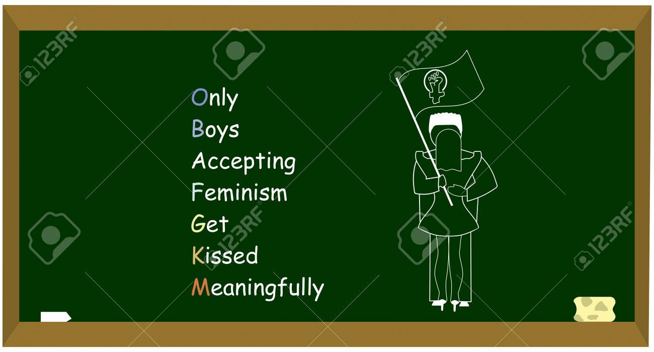 Only Boys Accepting Feminism Get Kissed Meaningfully Is A Mnemonic