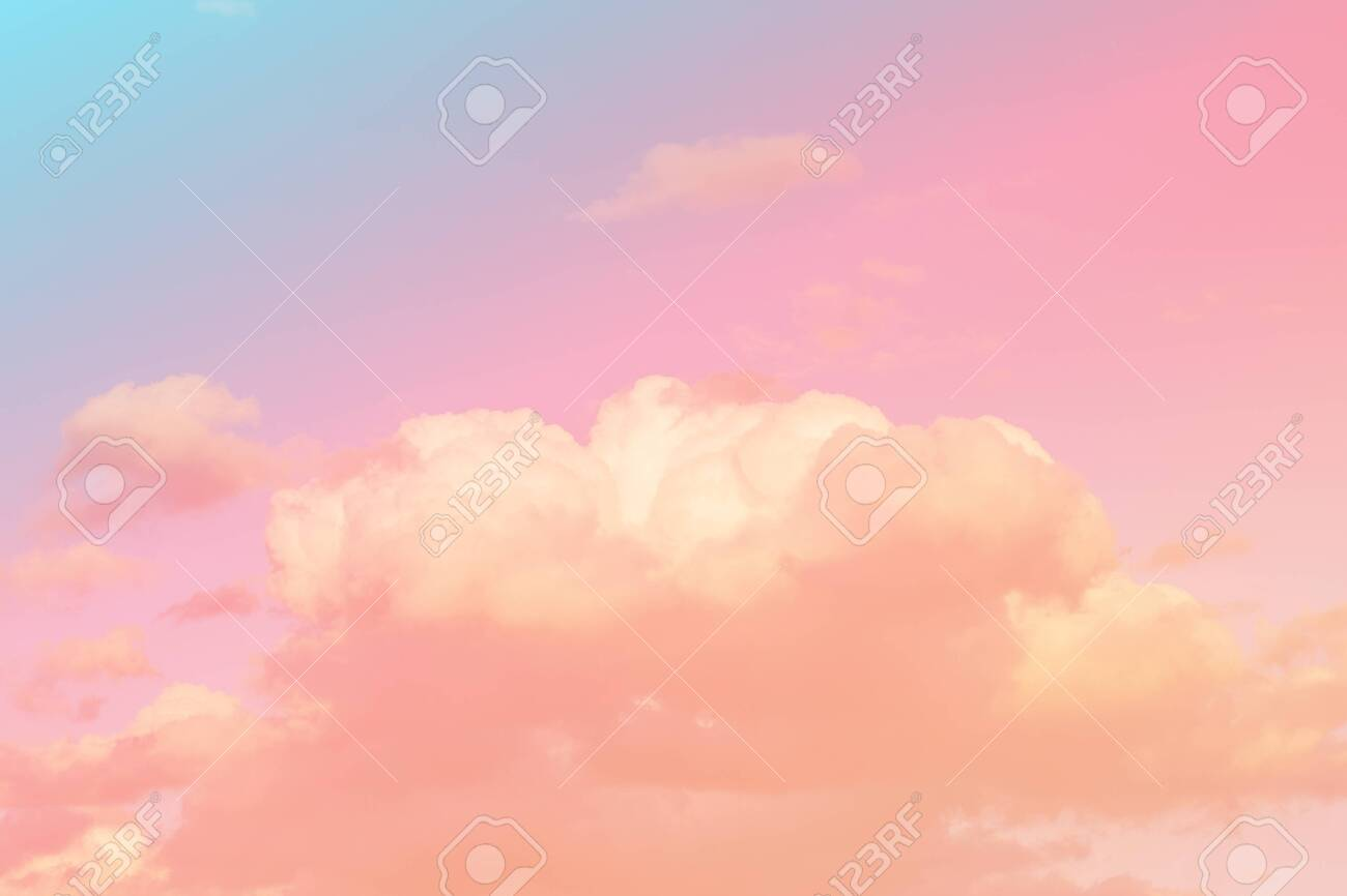 sky and cloud background with a pastel colored stock photo picture and royalty free image image 148317415 123rf com