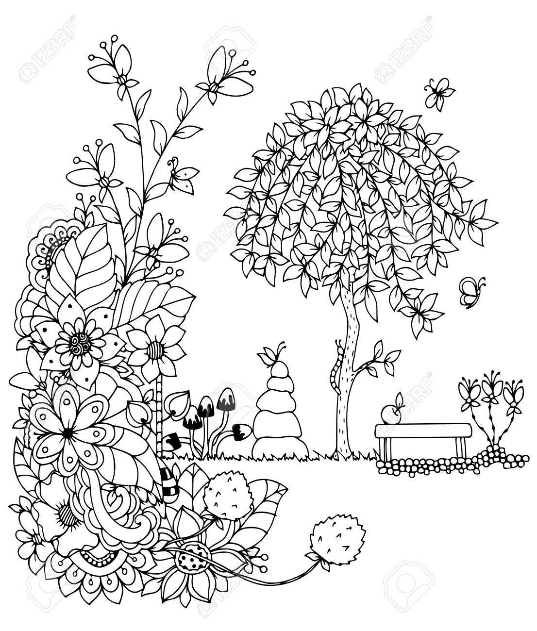 Ansprechend Bilder Malvorlage Baum Ideen Homeautodesign Com