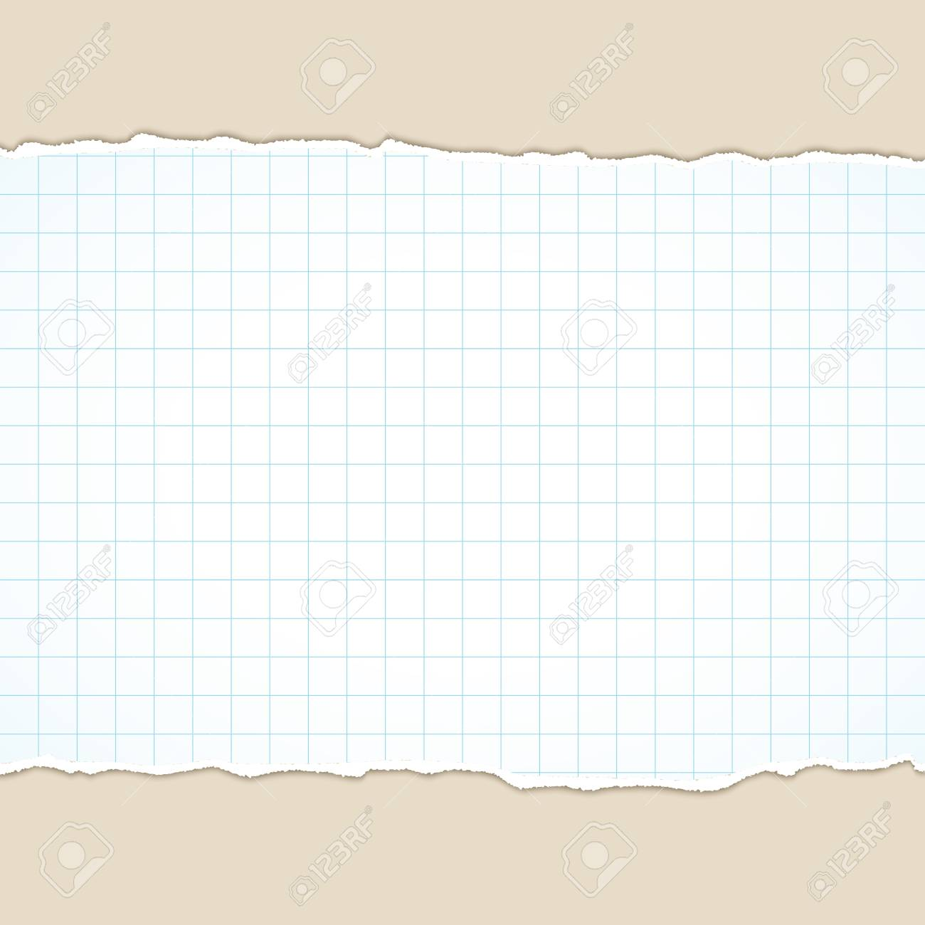 Paper Scraps With Teared EdgesTorn Banner Space For TextDesign Template