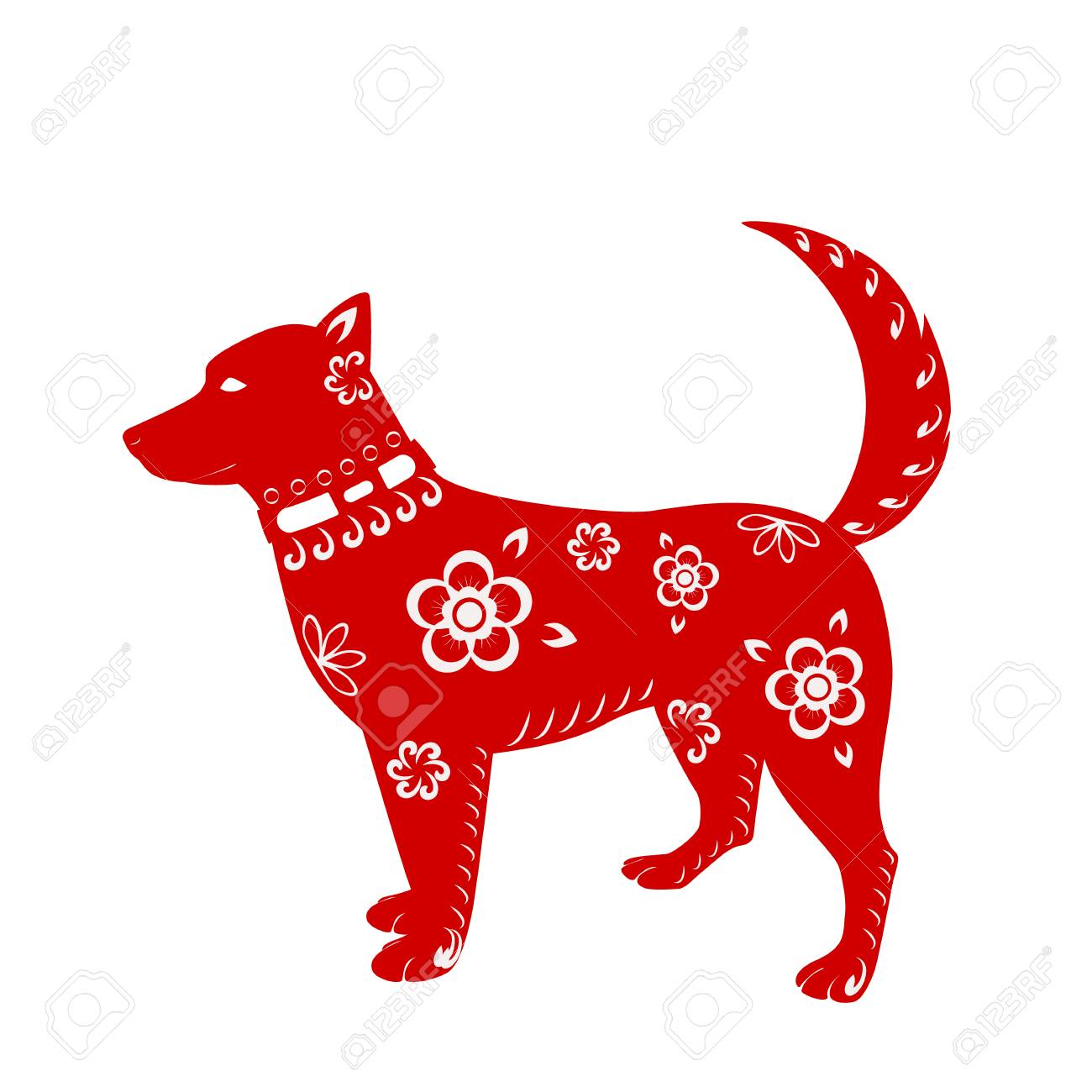 The symbol of the year 2018 dog do it yourself - the cutest dog we have done 11