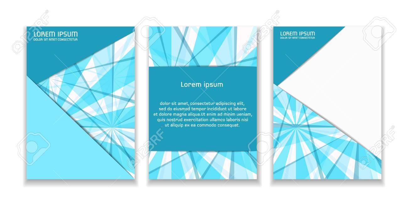 Eine Broschüre Vorlage Mit Einem Abstrakten Dynamischen Hintergrund ...