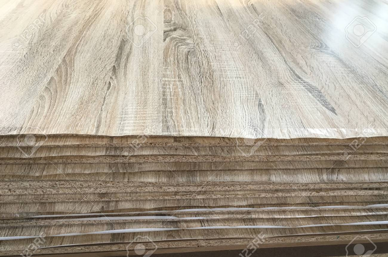 Wood grain and brown melamine surface coat
