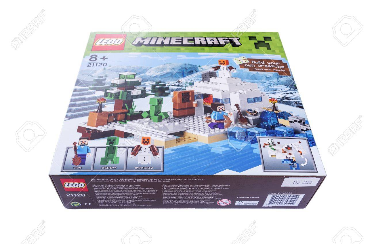 Game Minecraft - JULY 22: Computer game developed by the Swedish