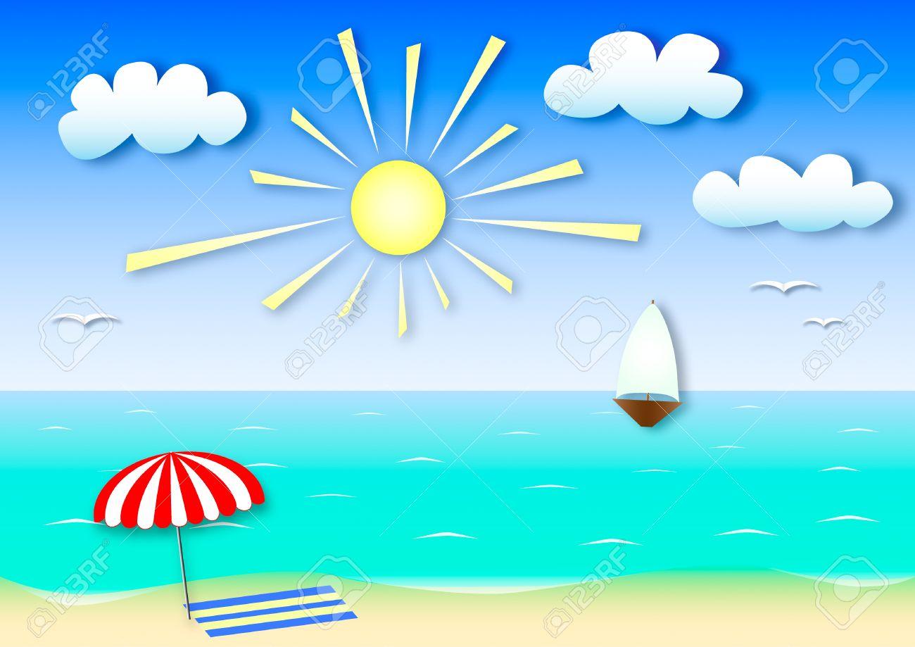 Resultado de imagen de verano dibujo color