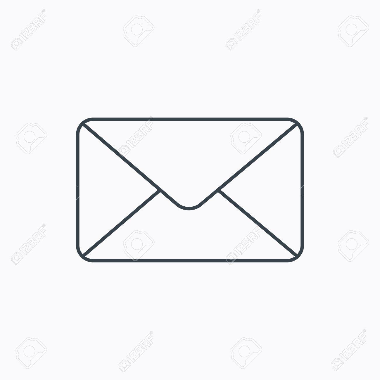 Envelope Mail Icon. Email Message Sign. Internet Letter Symbol ...