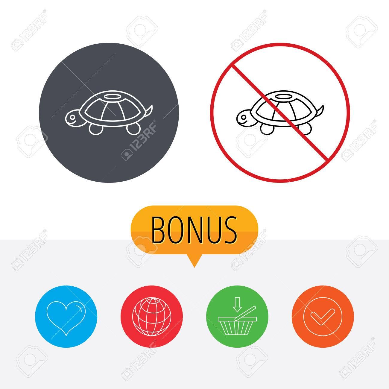 Turtle icon tortoise sign tortoiseshell symbol shopping cart turtle icon tortoise sign tortoiseshell symbol shopping cart globe heart and biocorpaavc