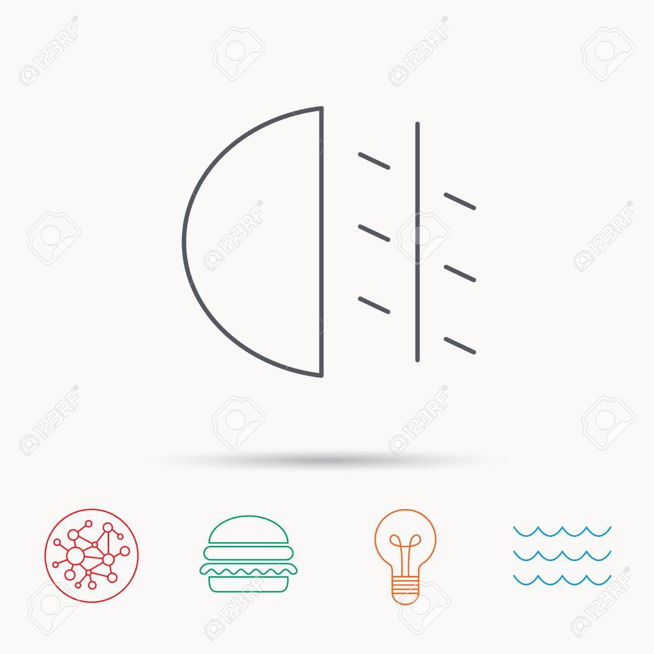 Nebelscheinwerfer Symbol Auto Strahl Zeichen Global Connect