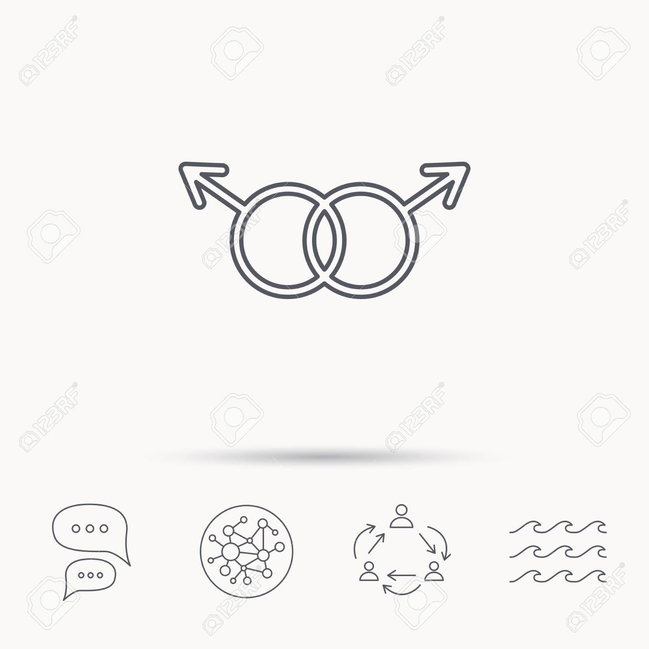 Dialogue chat gay
