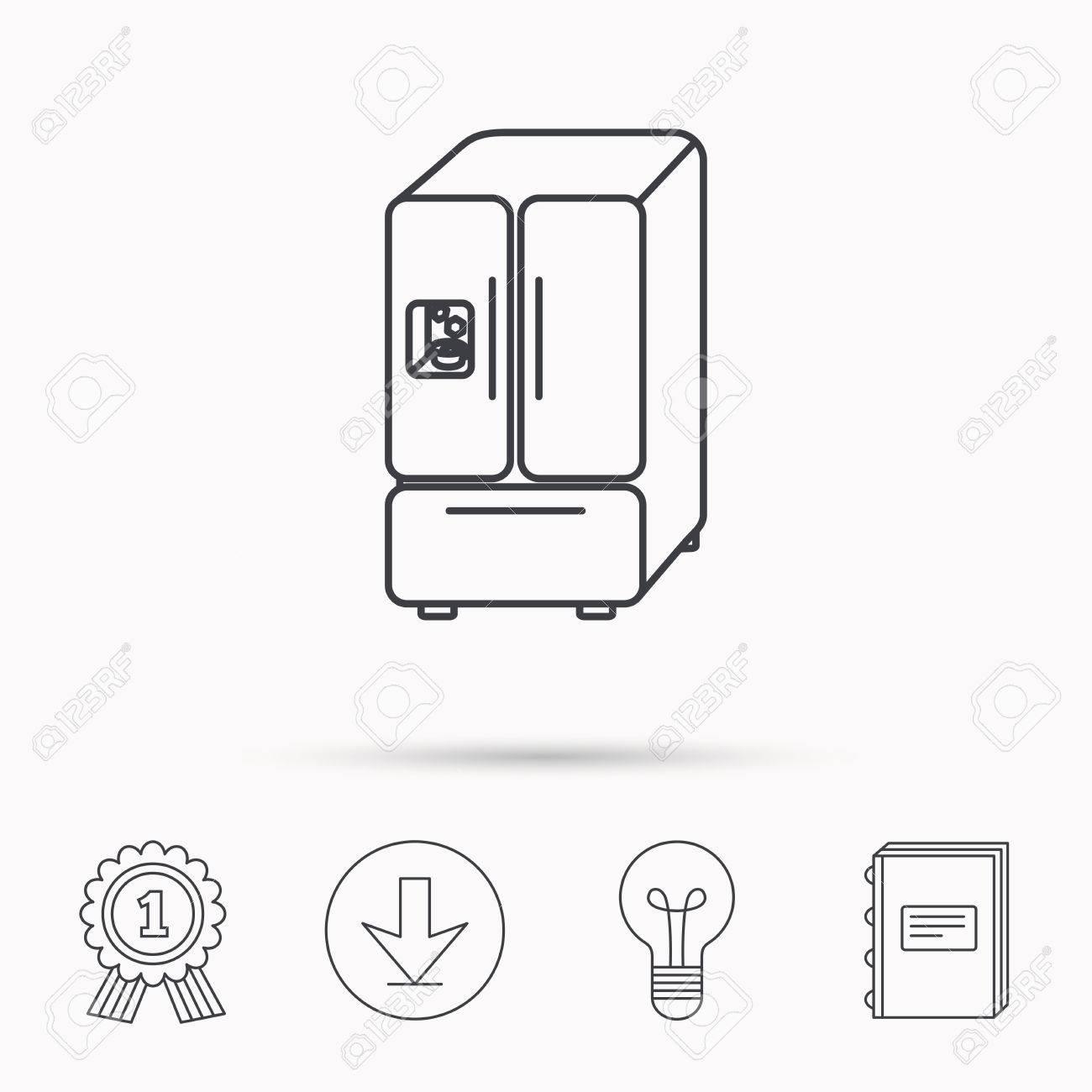 kühlschrank zeichen