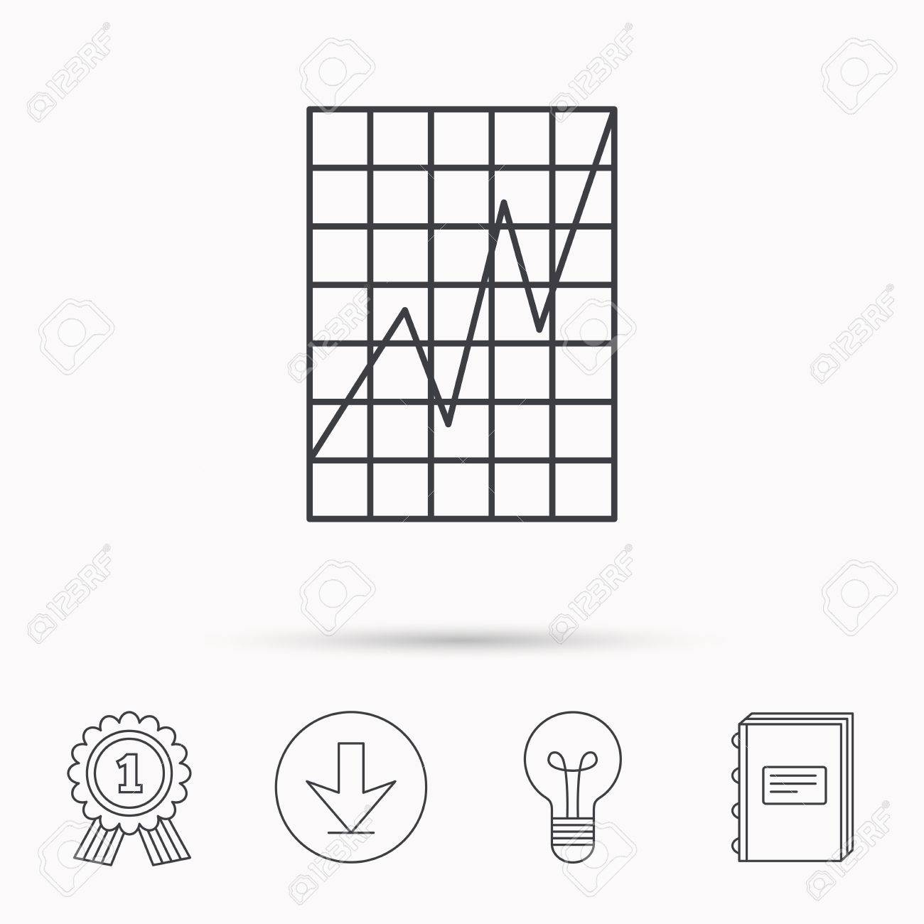 Chart curve icon graph diagram sign demand growth symbol download banco de imagens chart curve icon graph diagram sign demand growth symbol download arrow lamp learn book and award medal icons ccuart Choice Image