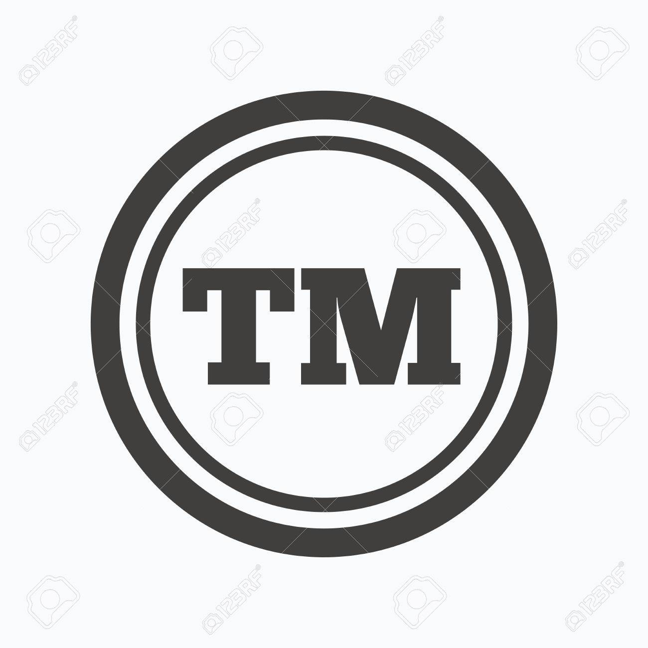 Registered tm trademark icon intellectual work protection symbol registered tm trademark icon intellectual work protection symbol gray flat web icon on white biocorpaavc Choice Image
