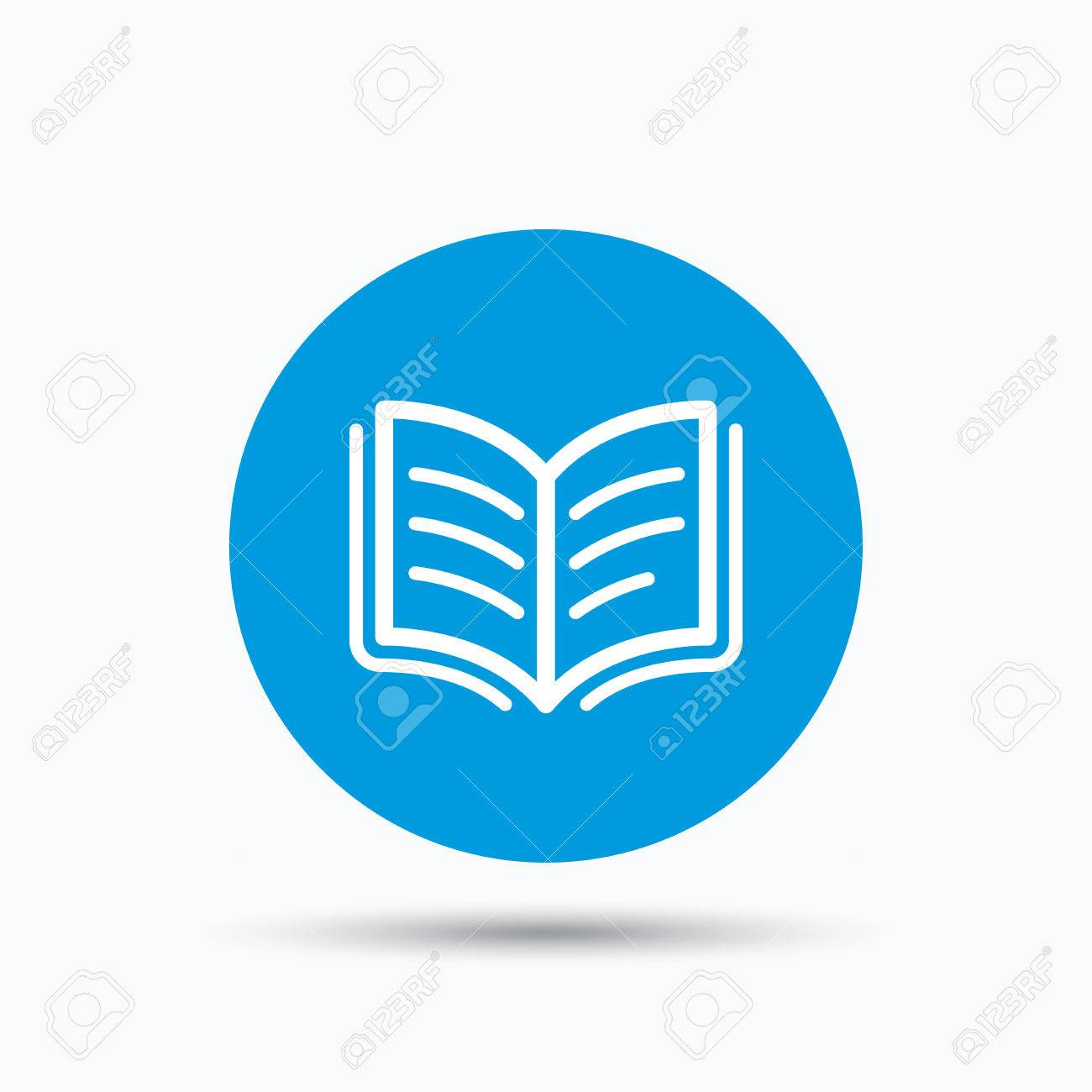 symbol for literature symbol of literature royalty stock images  book icon study literature sign education textbook symbol study literature sign education textbook symbol blue circle