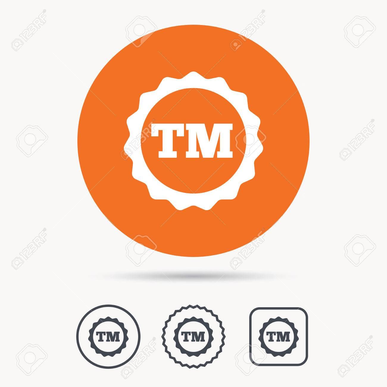 Registered tm trademark icon intellectual work protection symbol registered tm trademark icon intellectual work protection symbol orange circle button with web icon buycottarizona