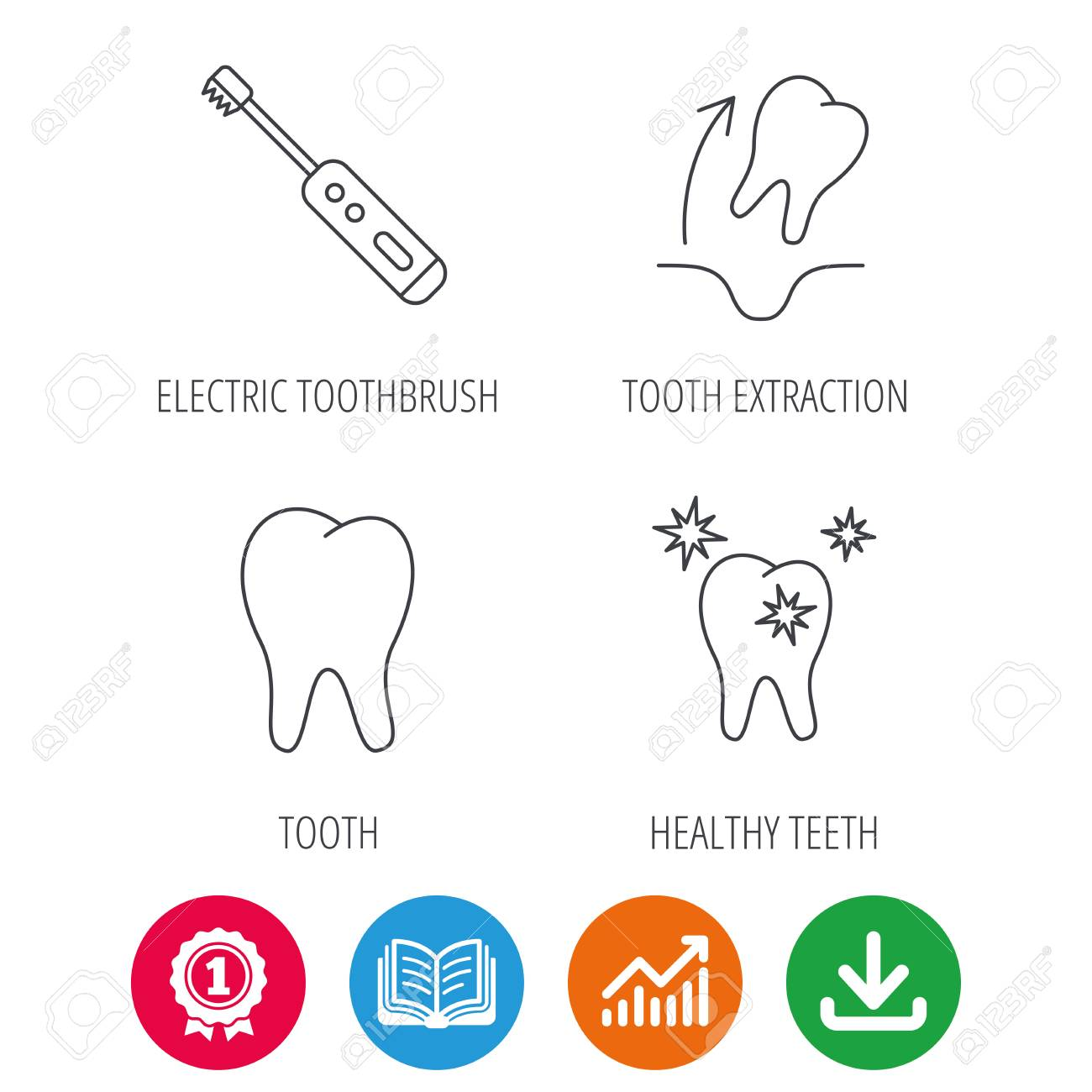 Tooth diagram web search for wiring diagrams tooth extraction electric toothbrush icons healthy teeth linear rh 123rf com tooth diagram with numbers tooth diagram quiz ccuart Images