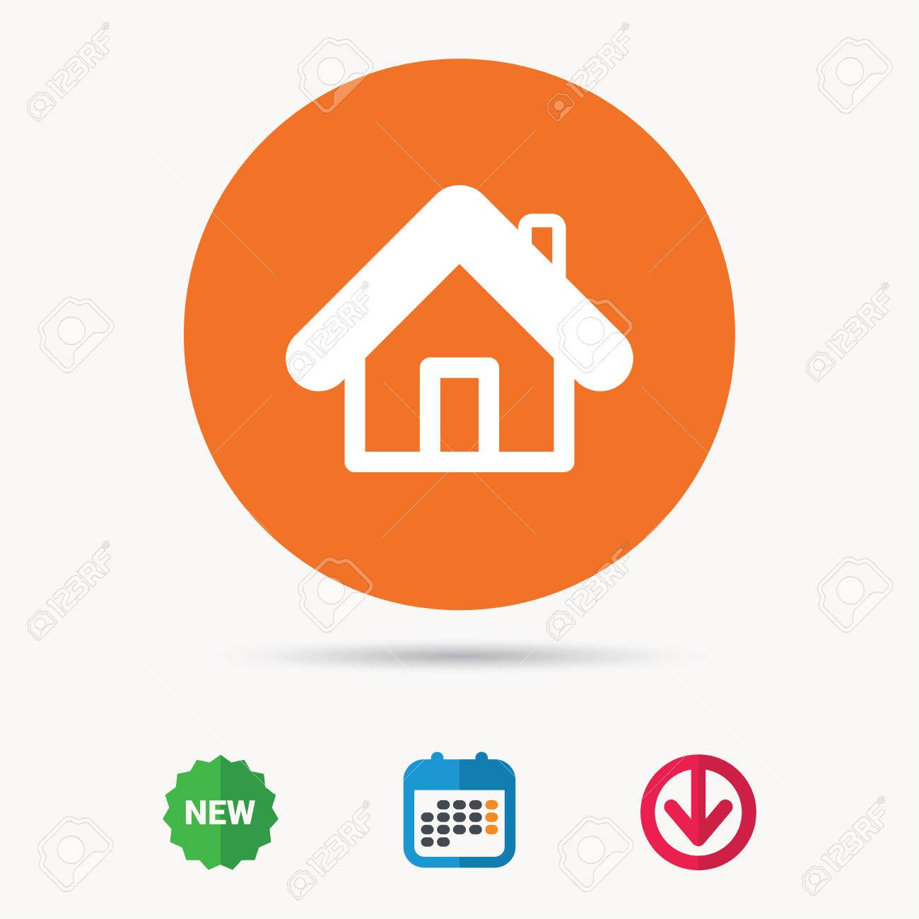 Home icon house building symbol real estate construction home icon house building symbol real estate construction calendar download arrow and biocorpaavc