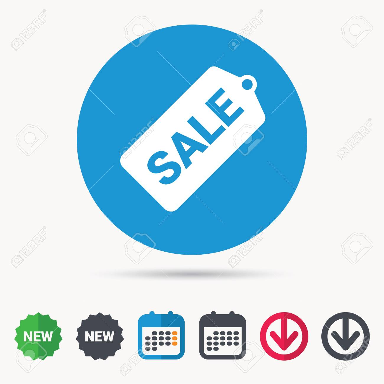 sale coupon icon special offer tag symbol calendar download