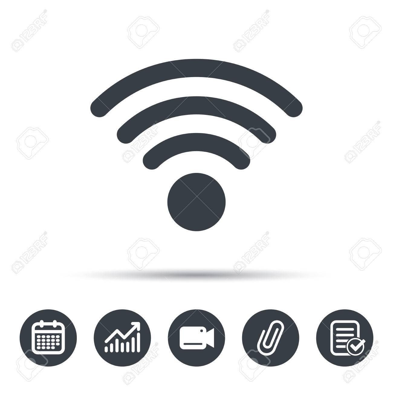 Wireless internet icon dolgular wireless internet sign communication technology symbol biocorpaavc