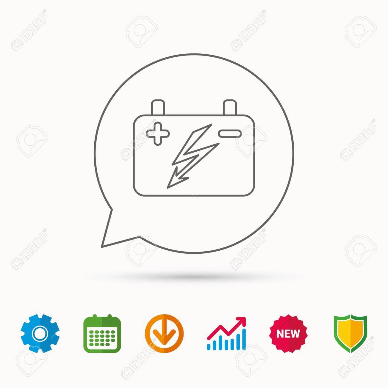 Fantastisch Elektrische Symbol Batterie Zeitgenössisch - Der ...