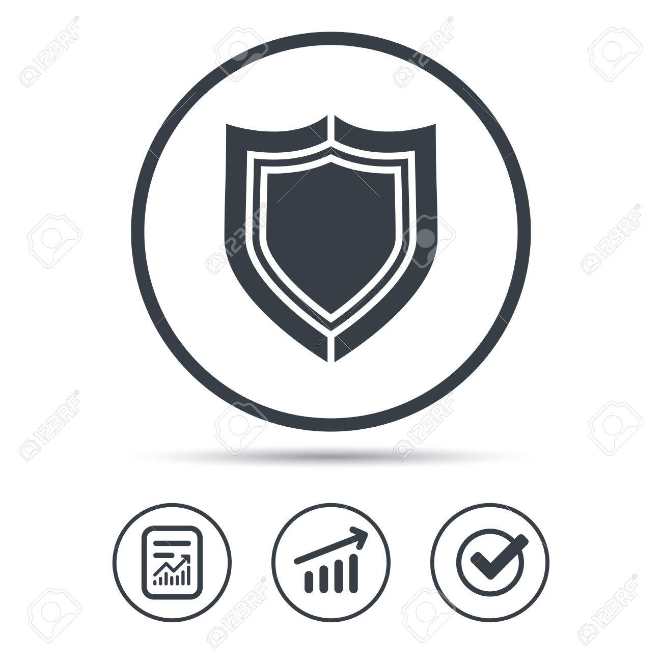 Symbol for protection sigils for protection origin not stated shield protection icon defense equipment symbol report document biocorpaavc Gallery