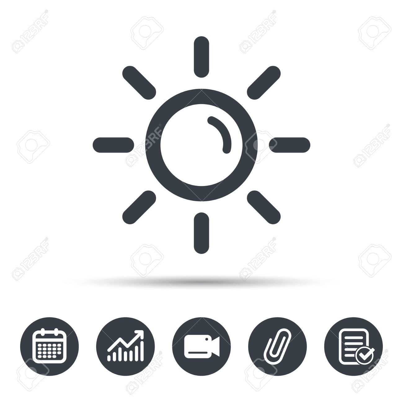 Sunny Weather Symbol Image Collections Meaning Of Text Symbols