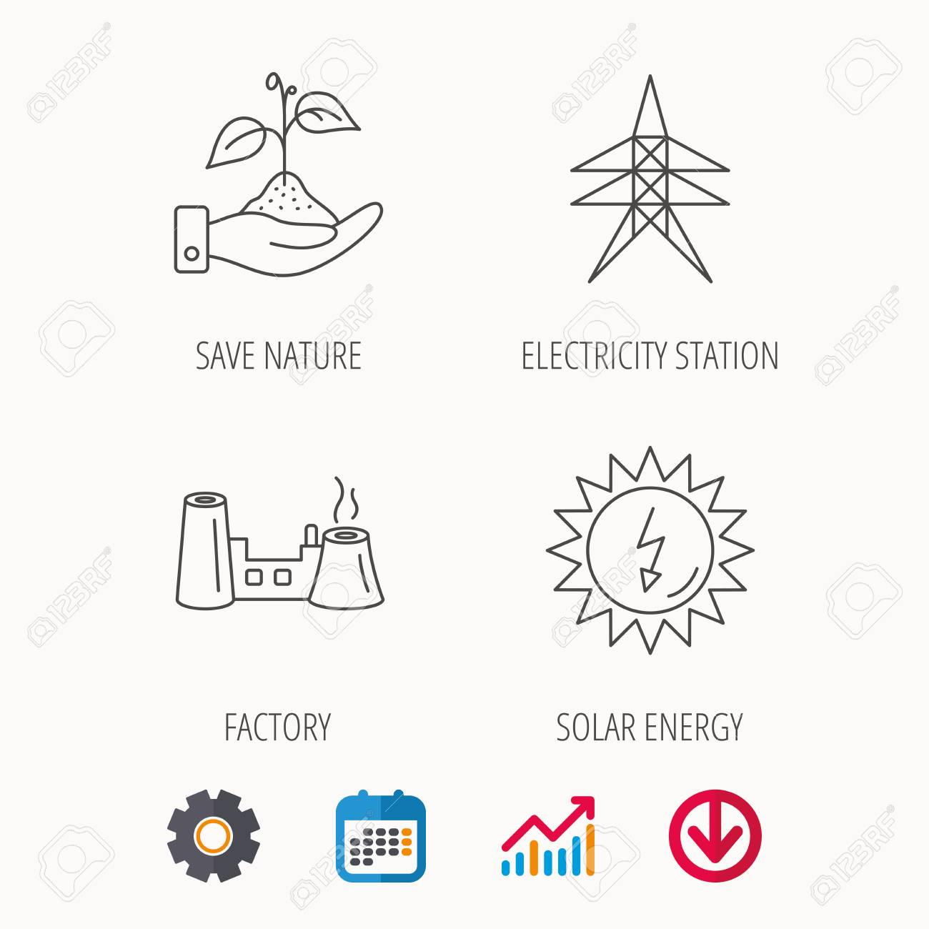 Electricity Web Diagram Wiring Diagrams Source Of Station Factory And Solar Energy Icons Save Nature Ford Ranger Electrical