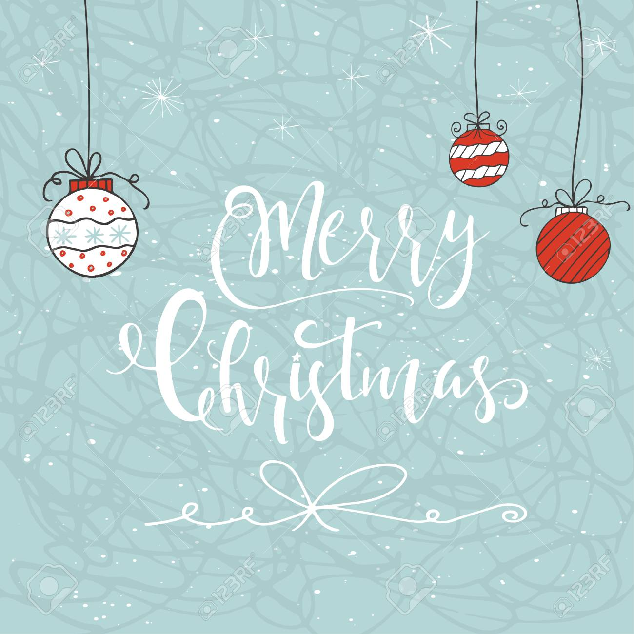 Christmas Gift Card Poster.Cute Christmas Gift Card With Lettering Quote Merry Christmas