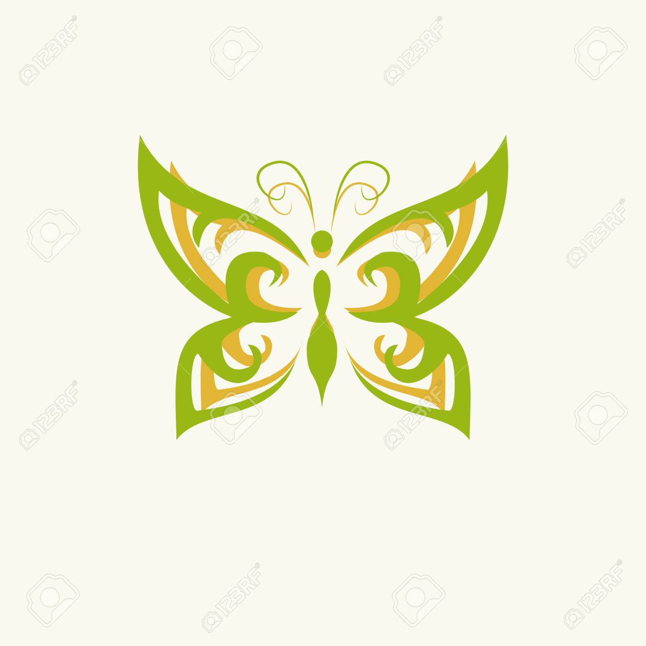 Eco icon green butterfly symbol vector illustration isolated eco icon green butterfly symbol vector illustration isolated on the light background fashion graphic biocorpaavc Images