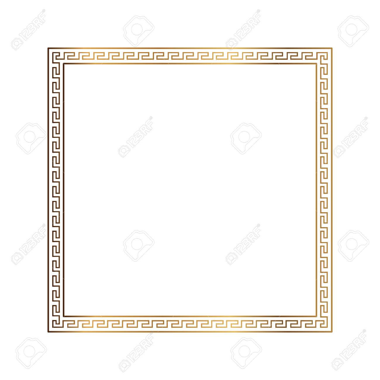 Greek style ornamental decorative frame pattern isolated greek greek style ornamental decorative frame pattern isolated greek ornament vector antique frame pack jeuxipadfo Gallery