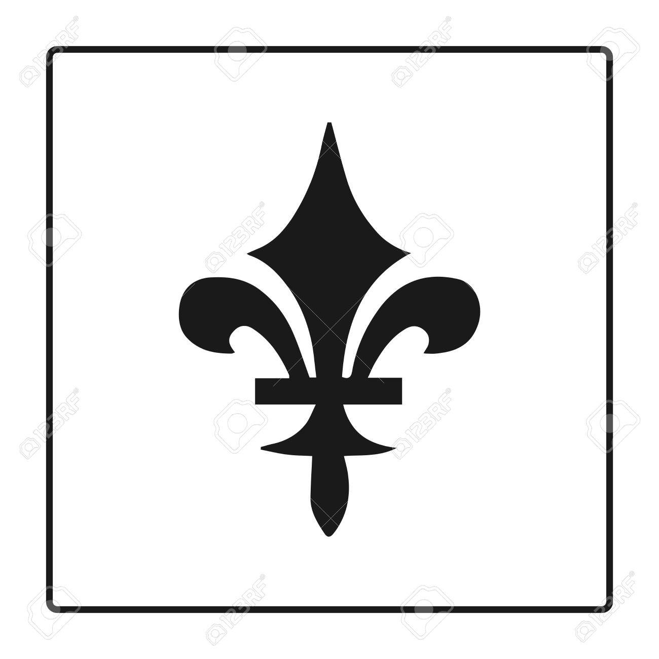 Fleur de lis symbol silhouette heraldic symbol vector fleur de lis symbol silhouette heraldic symbol vector illustration medieval sign biocorpaavc Gallery