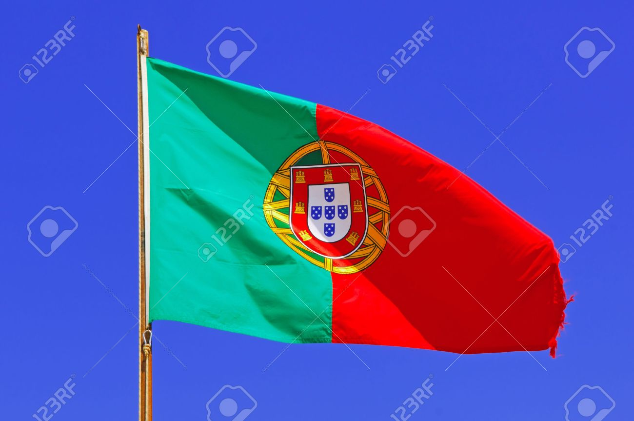 Portugal Area Of Algarve Sagres Portuguese Flag Representing