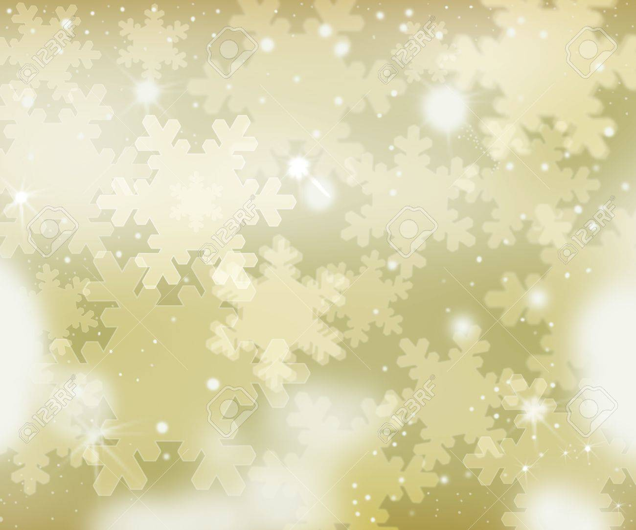Glittery gold Christmas background Stock Photo - 10277797