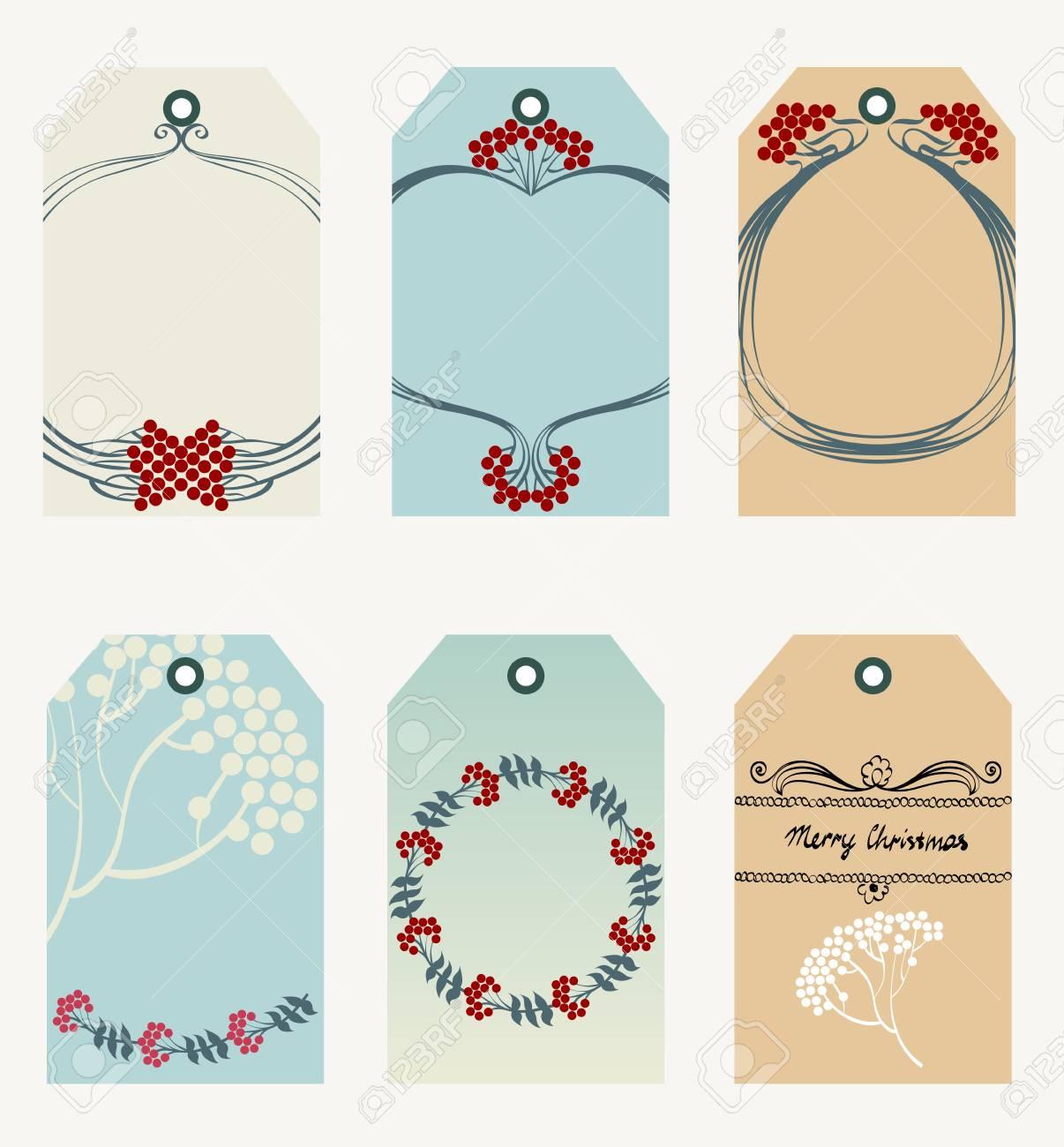 Merry Christmas Gift Tags.Merry Christmas And Happy New Year Tags Christmas Gift Tags