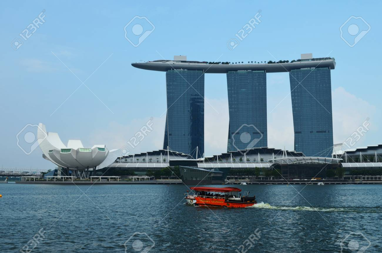 Marina Bay Sands Stock Photo - 15792281
