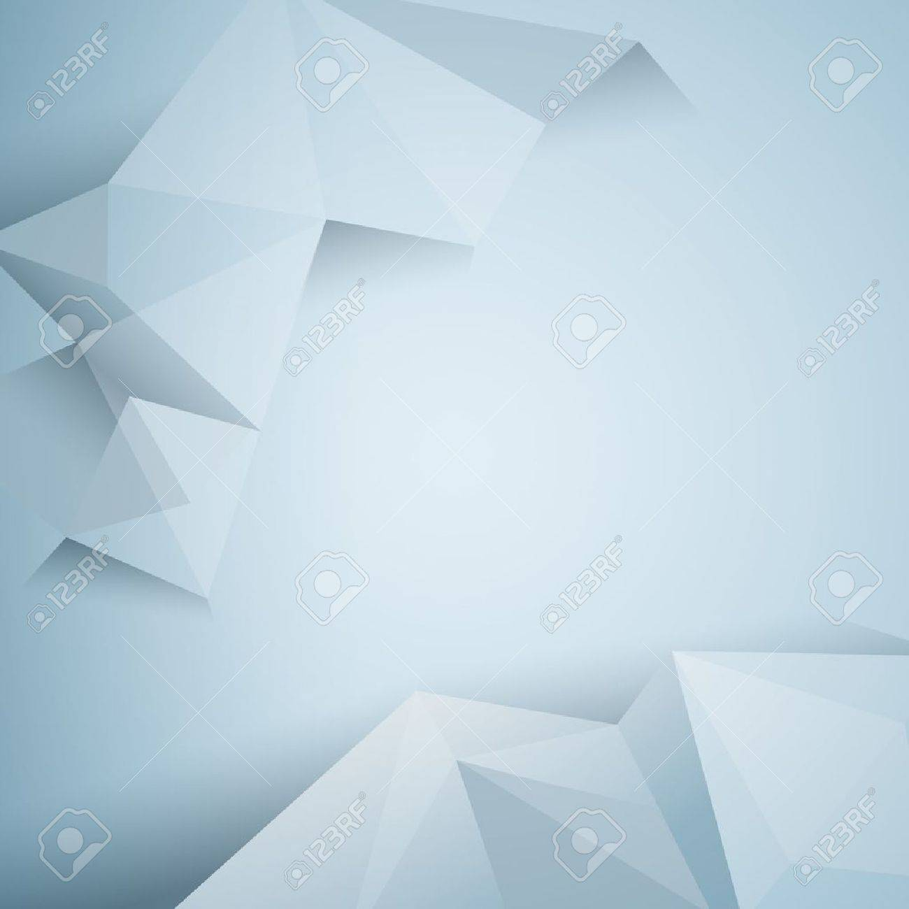 polygonal design / Abstract geometrical background Stock Vector - 19141024