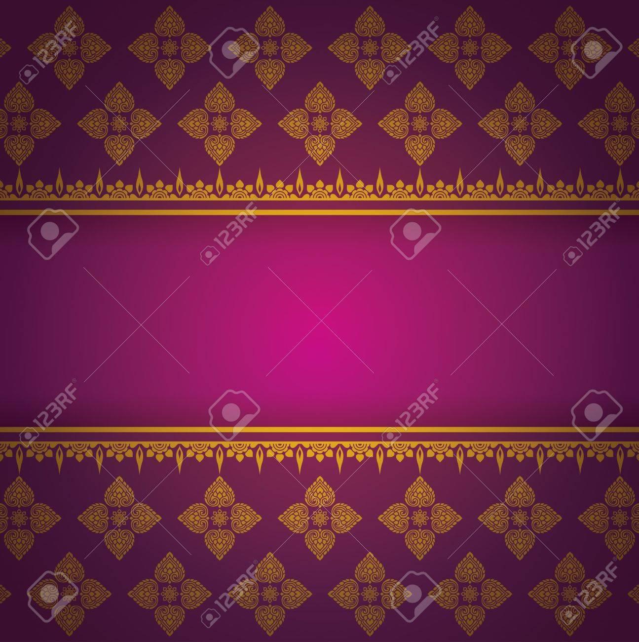 Asian Art Background, Asian art pattern vector Stock Vector - 21640123